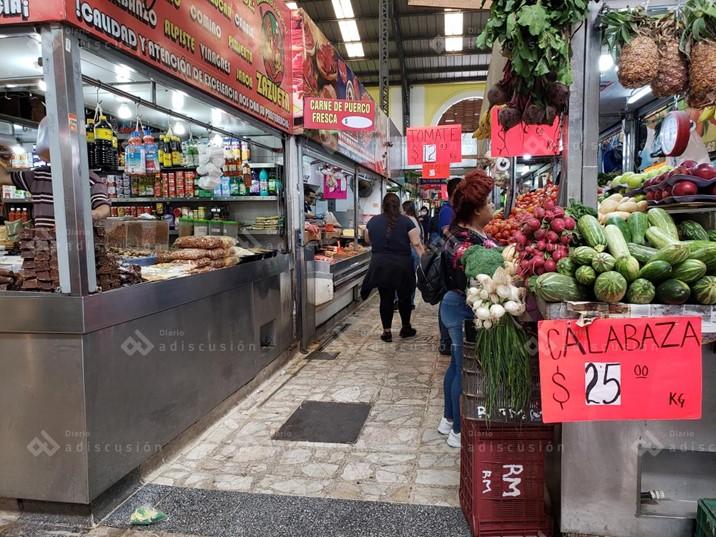 Mercado Garmendia abrirá mañana medio día; desinfectarán el lugar