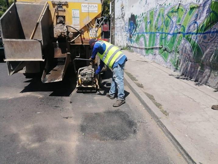 """Ya se podrá pasar """"por donde no hay baches""""; Ayuntamiento reporta trabajos"""