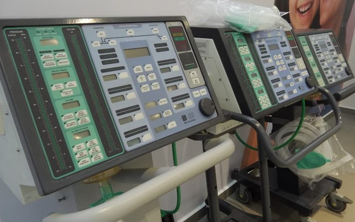 Ventiladores entregados al CIDOCS benefician en gran medida a pacientes Covid