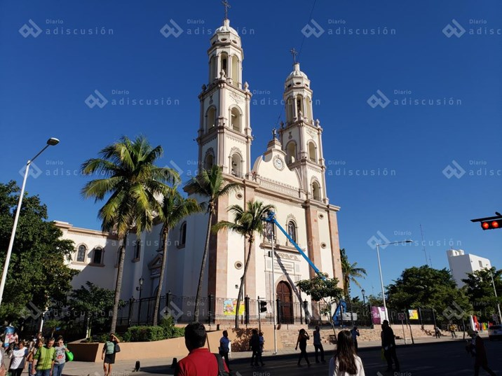 Iglesias de Culiacán sobrevivieron gracias a la aportación de fieles: Diócesis