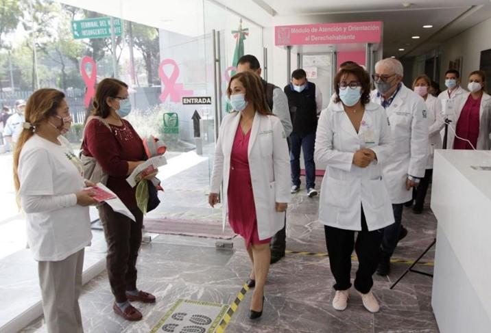 IMSS fortalece acciones en favor de la salud de la mujer