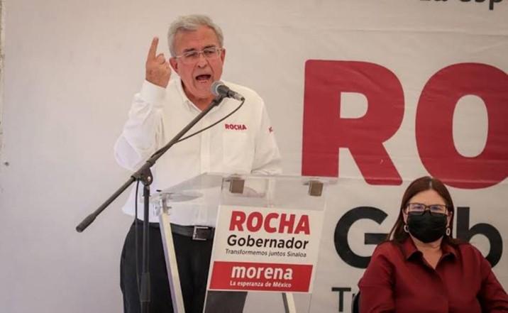 Rocha lamenta asesinato de morenistas Román Rubio y Esteban López; exige esclarecer los hechos
