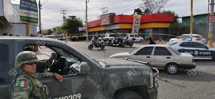 Se desata balacera en la Guadalupe Victoria; hay dos municipales heridos
