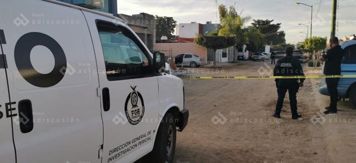 Asesinan a balazos a hombre en el fraccionamiento San Luis