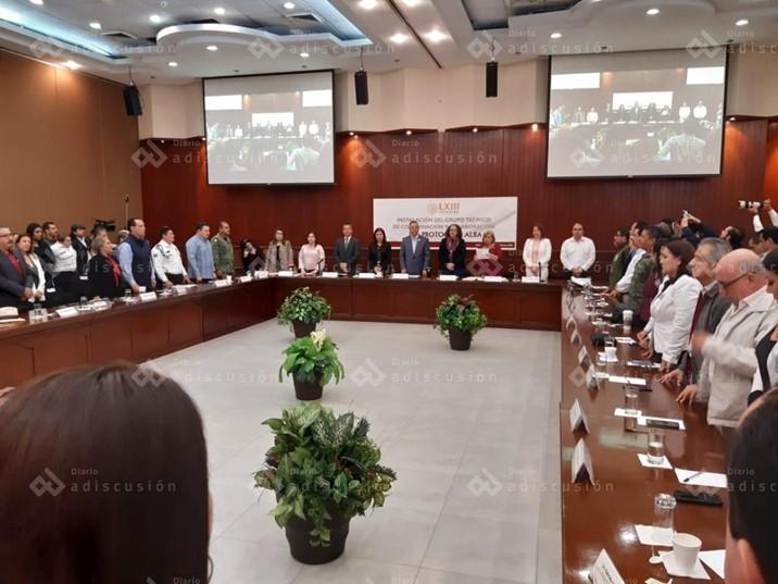 Instalan el Grupo Técnico de Coordinación y Colaboración del Protocolo ALBA