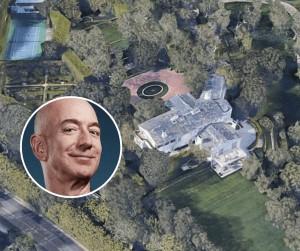 Jeff Bezos, compra la mansión más cara en los Angeles por $165 millones de dólares