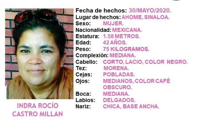 Protocolo Alba: Buscan a mujer desaparecida en Ahome