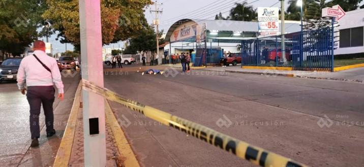 """Ejecutan con """"cuerno de chivo"""" a uno sobre el bulevar Ciudades Hermanas"""