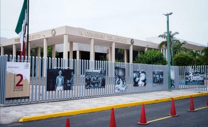 Derribar Valla Perimetral del Congreso de Sinaloa, pide diputado de Morena
