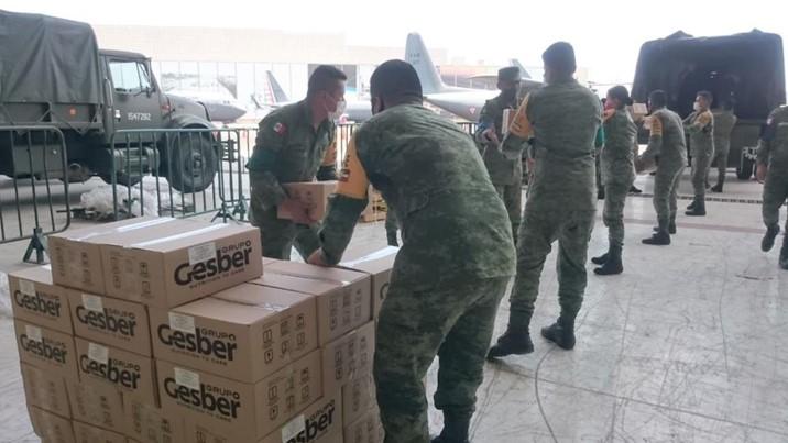 Traslada SEDENA medicamentos, insumos médicos y equipo a Mazatlán