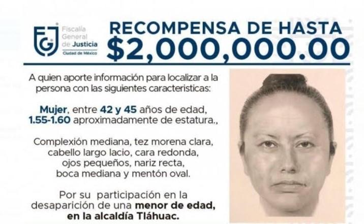 Difunden retrato hablado de la mujer que se llevó de la mano a Fátima