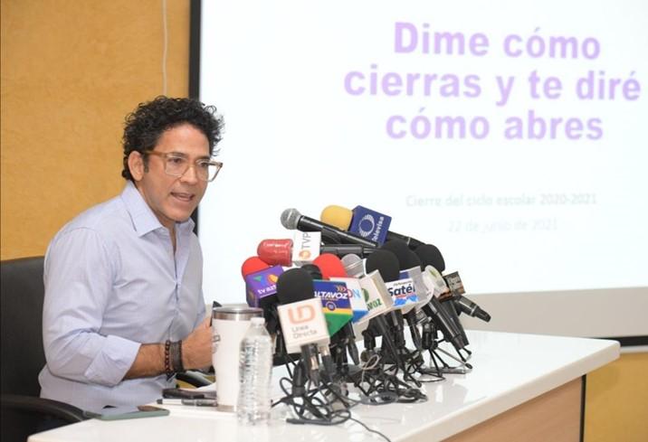 Sinaloa coincide con AMLO: el regreso a clases es por el convencimiento, nada por la fuerza