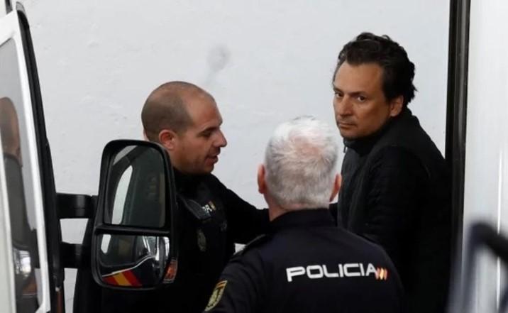 Juez español envía a prisión a ex director de Pemex, Emilio Lozoya