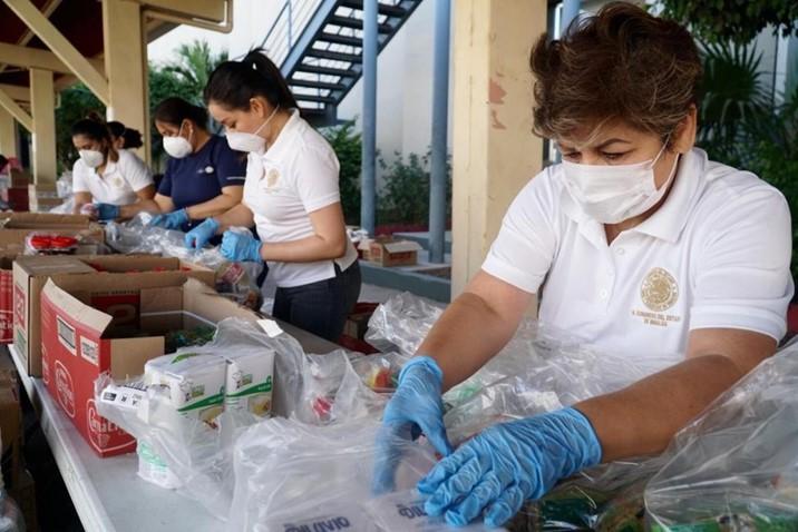 Avanza Congreso en entrega de alimentos; 31 diputados reciben 15 mil 884 paquetes