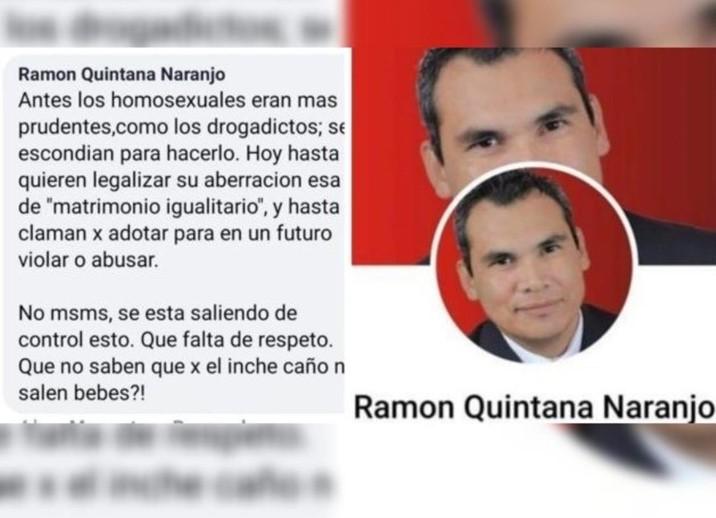 Separan a funcionario de VyT por comentarios misóginos y homofóbicos