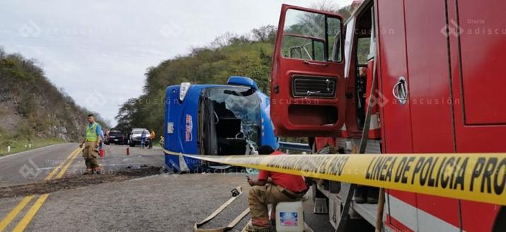 Muere mujer aplastada por un autobús en la México 15