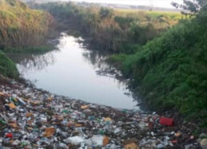 Realizan jornada de limpieza y desazolve en arroyo de la comunidad El Quemadito