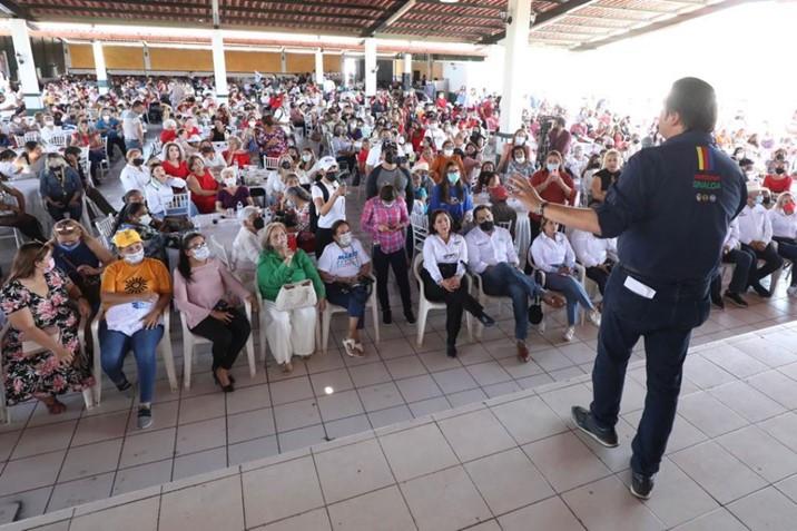 El de Sinaloa será el gobierno que haga realidad el sueño de las mujeres: Mario Zamora