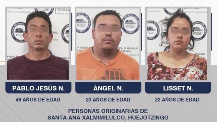 Detenidos por homicidio de estudiantes en Puebla tendrían antecedentes criminales