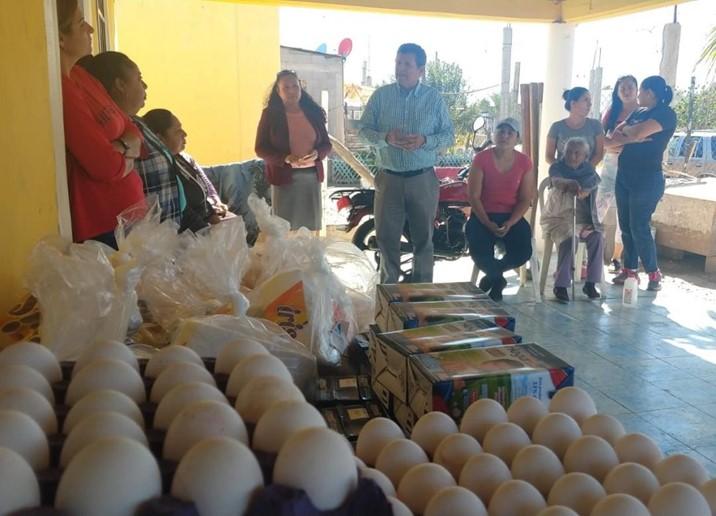 Benefician a 308 familias con productos de la canasta básica a bajo costo