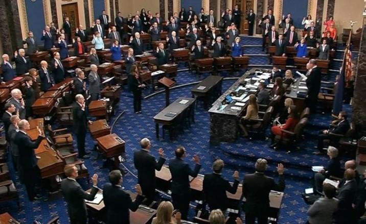 No hablar ni salir; reglas para el juicio político a Trump en el Senado