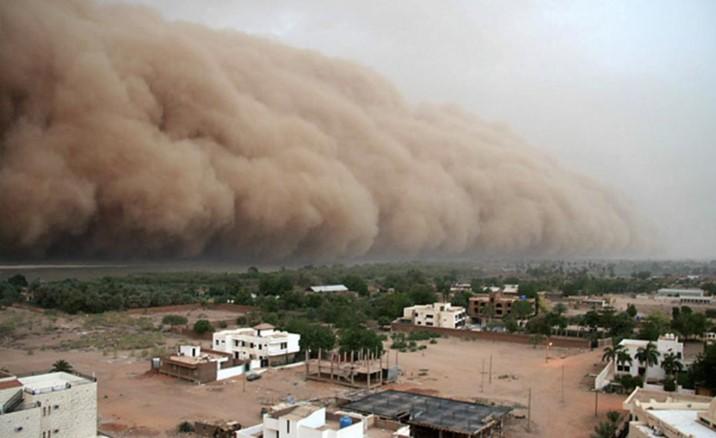 """Reculan: """"Polvo del Sahara"""" sí llegará a Sinaloa; este domingo y lunes"""